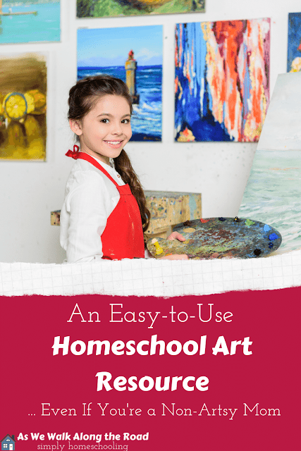 Homeschool art resource