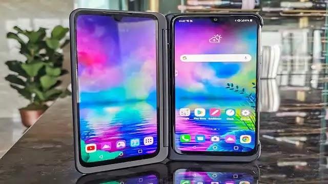 هاتف LG G8X ThinQ يتيح لك سهولة الوصول إلى إتجاه الهاتف القابل للطي