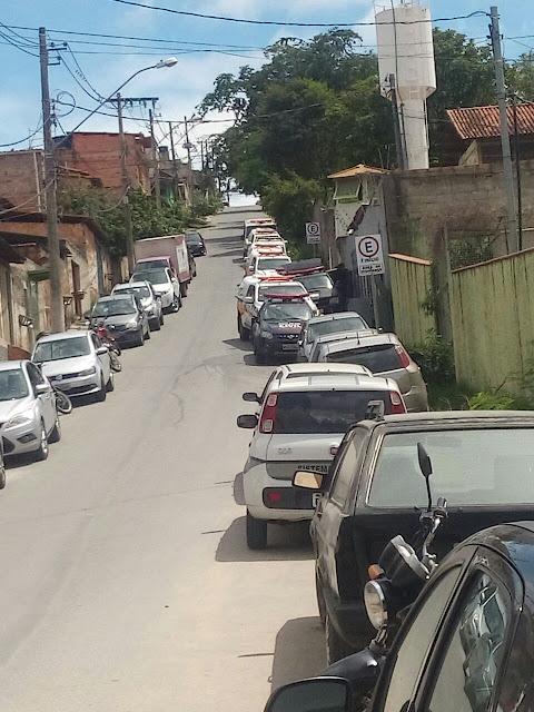 Policia Realiza operação de Busca e Apreensão no Presídio de Santa Luzia