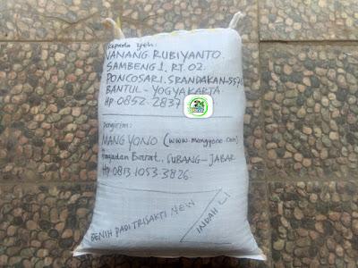 Benih Pesanan TUKIRMAN EDI Purworejo, Jateng. (Sesudah packing)