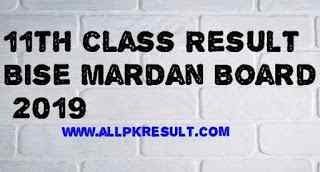 Bise Mardan Board Result 2019