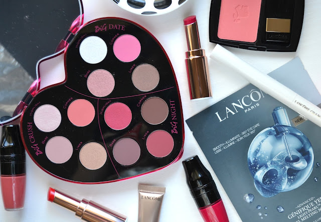 Lancome Monsieur Big Heart-Shaped Eyeshadow Palette