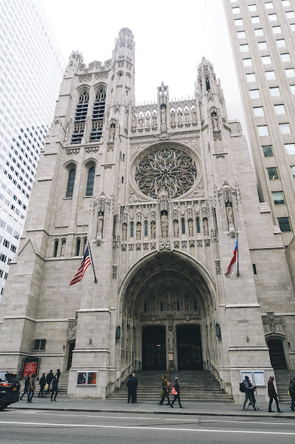 セント・トーマス教会(Saint Thomas Church Fifth Avenue)