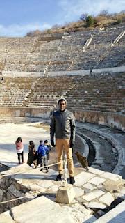 Reno Omokri in the Ancient Biblical City of Ephesus