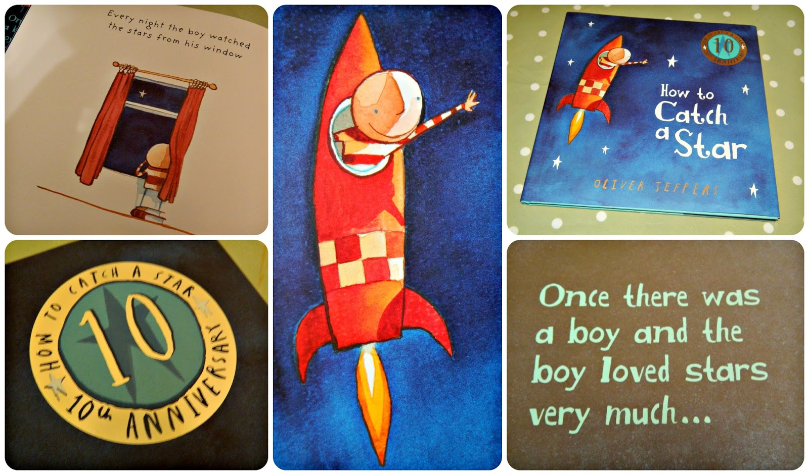 How to Catch a Star Oliver Jeffers 10th Anniversary