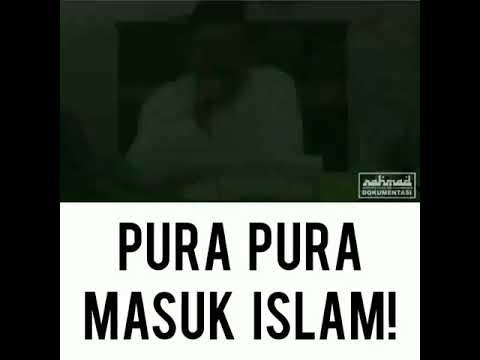 Pura-pura masuk islam apa akibatnya