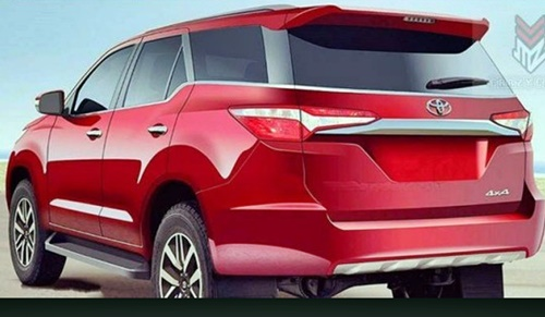 New Red Hot Toyota Fortuner 2016