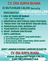 Loker Surabaya di CV. Era Surya Buana Juli 2020