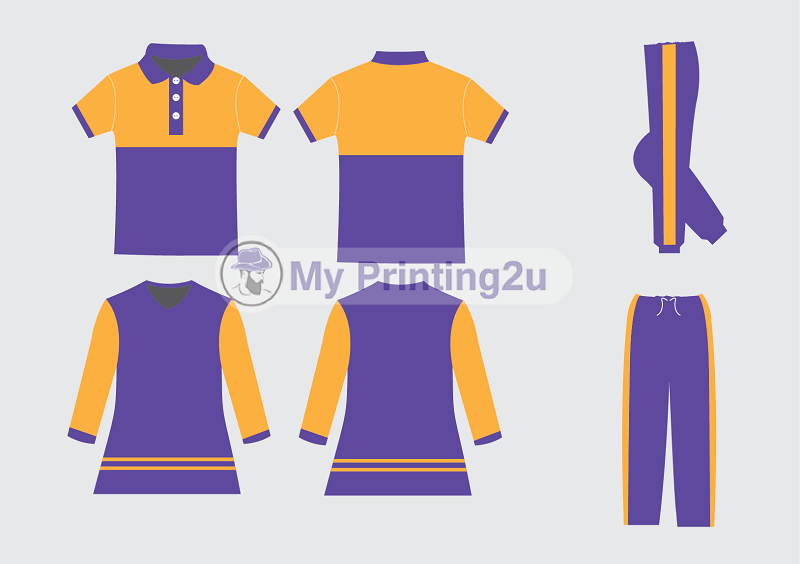 Design terkini baju uniform tadika 2020