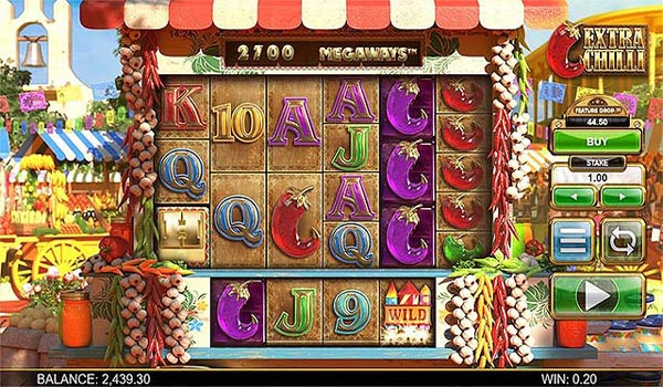 Main Gratis Slot Indonesia - Extra Chilli Megaways (Big Time Gaming)