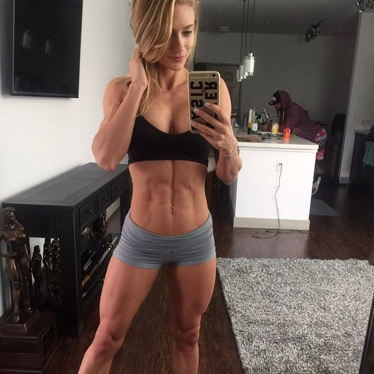 Alyssa Germeroth, female fitness model 0002