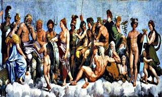 Миф о создании мира в Древнегреческой мифологии