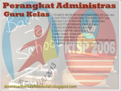 perangkat administrasi bagi guru dan kepala sekolah format word