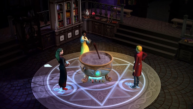 Коды для игрового набора «The Sims 4: Мир магии»
