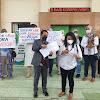 Jadi Korban Arisan Online, Ibu-Ibu Ini Demo di PN Bantul
