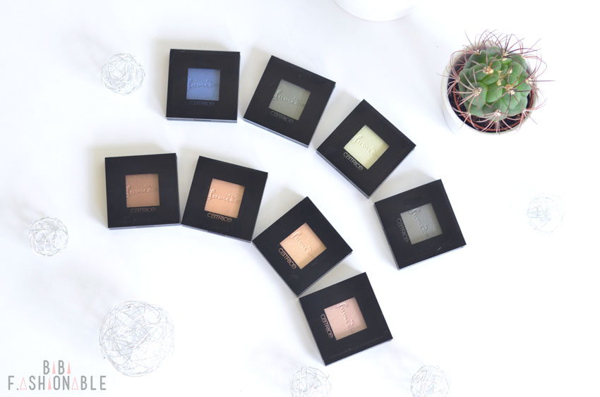 Catrice pret-a-Lumiere Longlasting Eyeshadows geschlossen