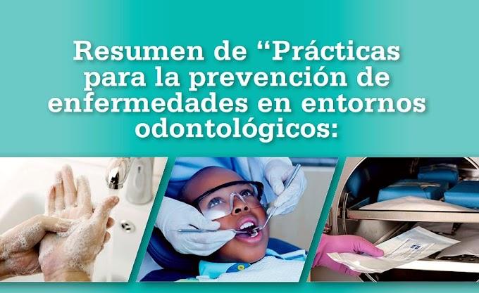 PDF: Prácticas para la prevención de enfermedades en entornos odontológicos - Expectativas básicas para la atención segura