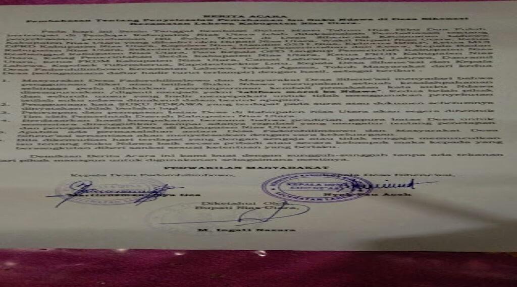 Hukum Secara Adat Pembuat Tulisan 'Suku Ndawa'