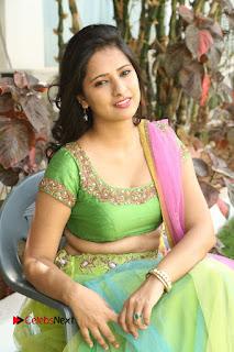 Actress Nikitha Bisht Stills in Lehenga Choli at Pochampally Ikat Art Mela Launch  0347.JPG