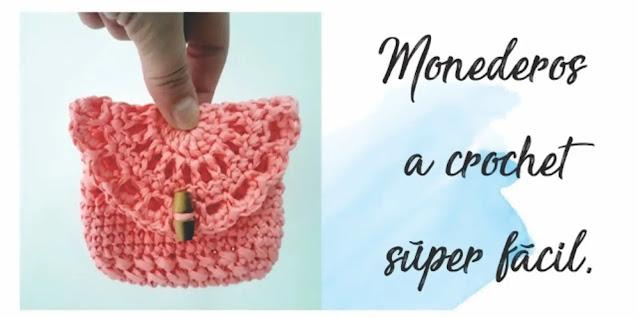 Cómo Tejer Monederos a Crochet Muy Fácil
