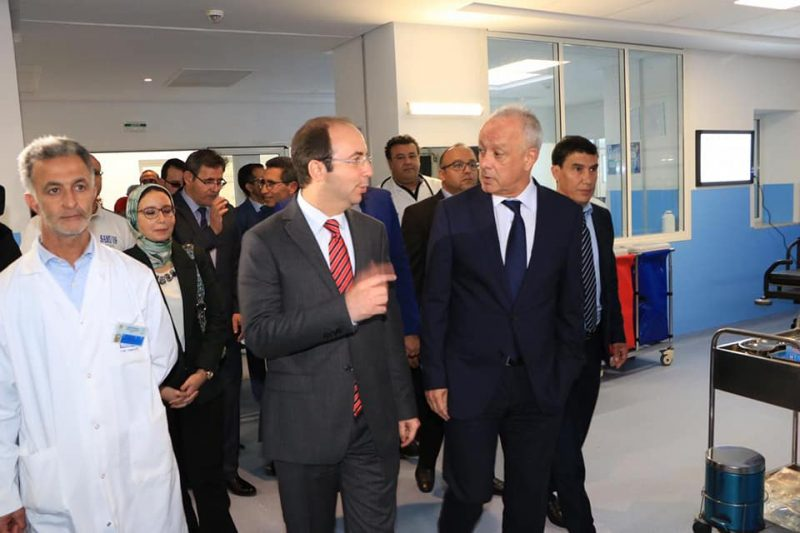 وزير الصحة يدشن في طنجة قسم جديدا للمستعجلات بمحمد الخامس ومركزين في ضهر القنفود وحجر النحل
