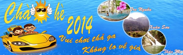 Khuyến mại du lịch hè 2014