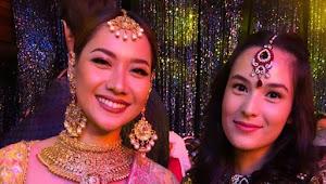Seksinya BCL Saat Selfie dengan Chelsea Islan Menggunakan Pakaian Tradisional India