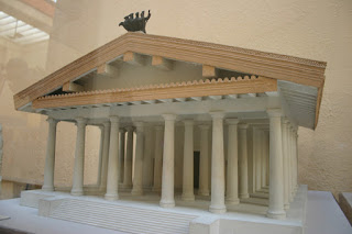 The Temple of Jupiter Optimus Maximus on the Capitoline Hill, as it would have looked