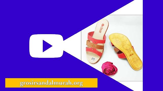 grosirsandalmurah.org - Imitasi kulit wanita - Sandal CS Slop Karet