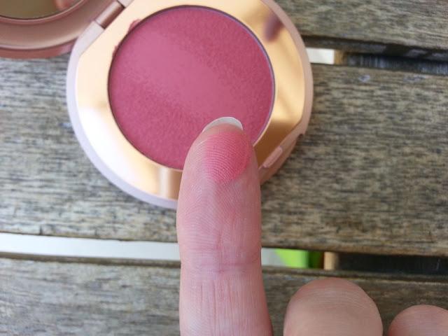 texture du blush kiko