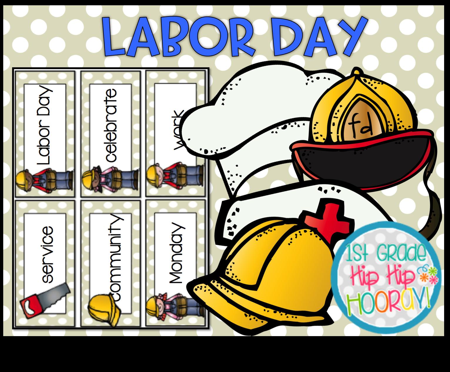 small resolution of 1st Grade Hip Hip Hooray!: Labor Day!