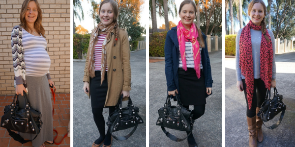 part time bag and pattern mixing outfit ideas for balenciaga part time bag | awayfromblue