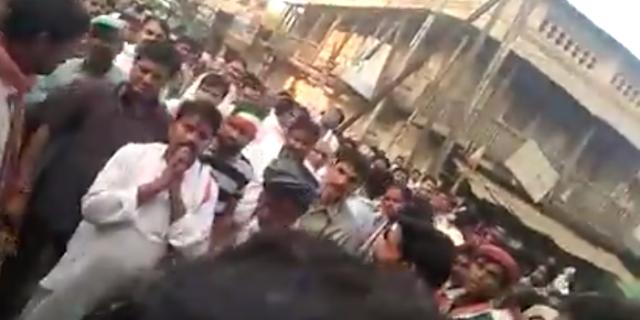 CONGRESS प्रत्याशी बाला बच्चन के सामने लगे नारे 'माफ करो महाराज हमारा नेता शिवराज' | MP NEWS