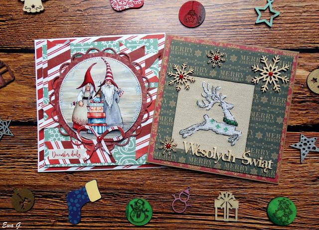 Lutowe kartki bożonarodzeniowe