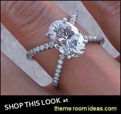 Oval Cut Criss Cross Engagement Ring  womens dress ring womens rings diamond rings