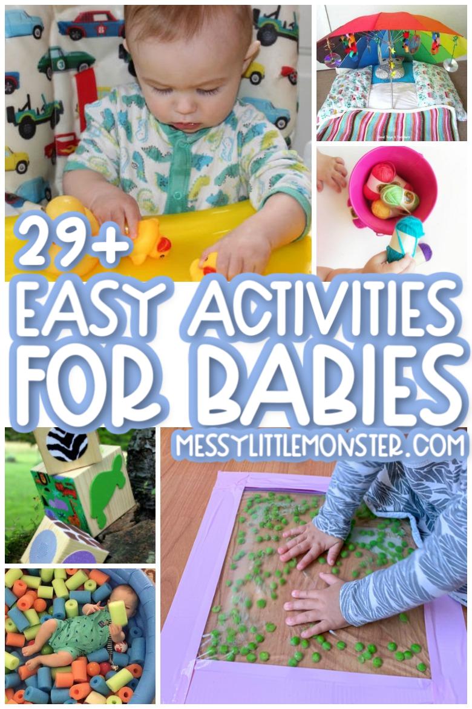Easy activities for babies