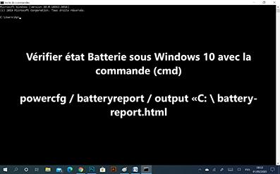 Comment vérifier la batterie de votre PC sous Windows 10