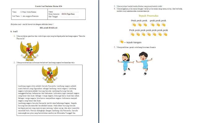 Soal PH Kelas 3 SD/MI: Tema 8