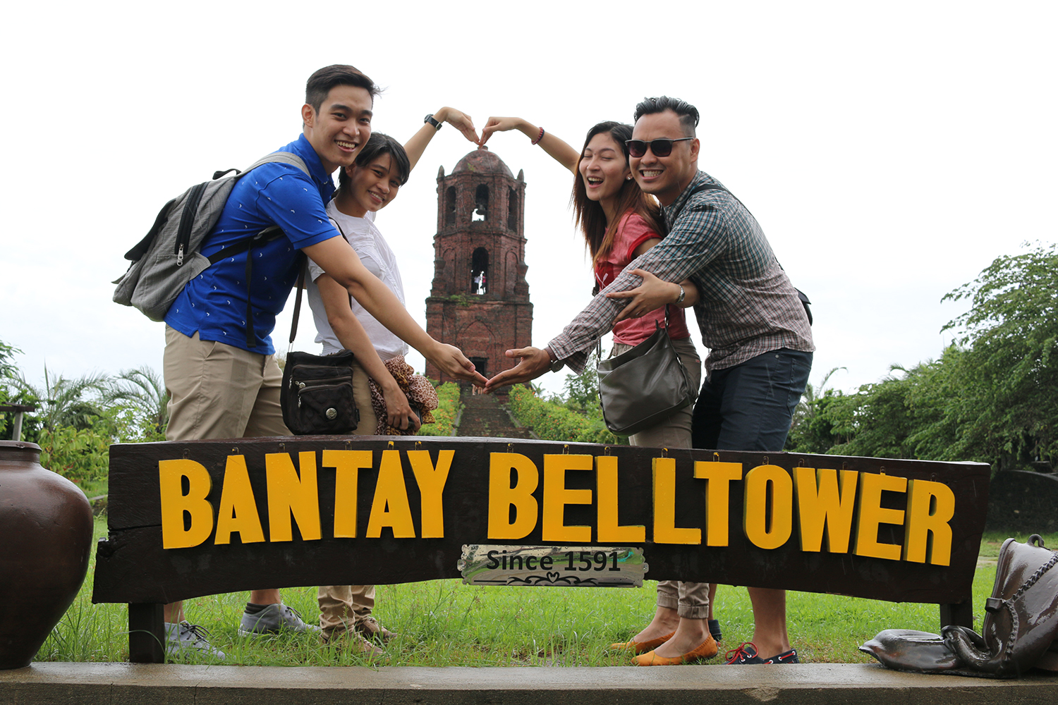 travel Vigan Ilocos Tour Sur Philippines tour tourism Bantay Church St Agustine Parish Bell Tower Belfry
