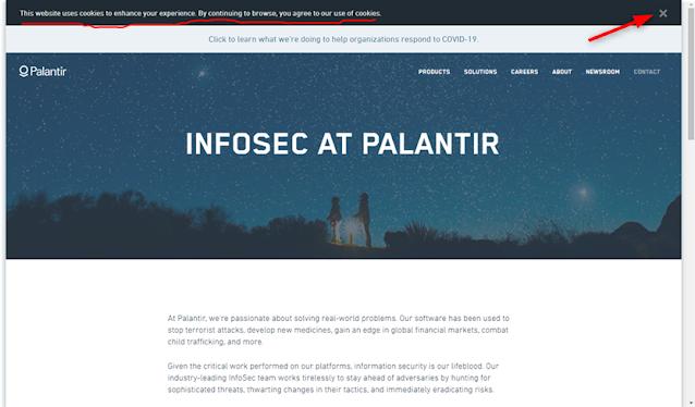 Palantir - Information Security