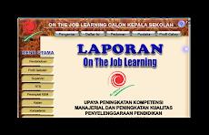 Contoh Laporan Penyusunan On The Job Learning ( OJL ) Tahun 2014/2015