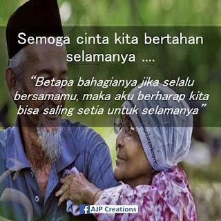 Kata-Kata Romantis  Semoga Cinta Kita Bertahan Selamanya #
