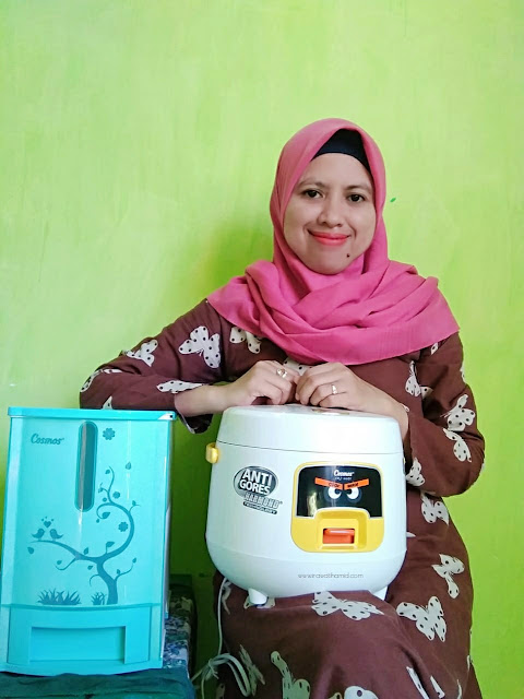 Rice Cooker Cosmos Harmond Anti Gores