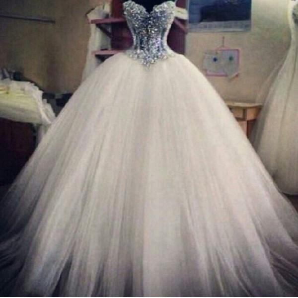 Glitter Wedding Dresses Pinterest 2018 - 2019 - Wedding Dresses