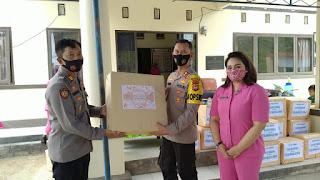 Kunker ke Polsek Malua, Kapolres Enrekang Sampaikan Beberapa Penekanan