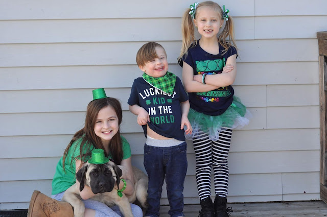 St. Patrick's Day Family Picture