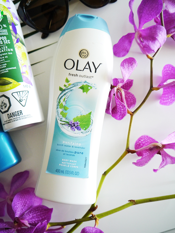 Olay Fresh Outlast Birch Water and Lavender Body Wash