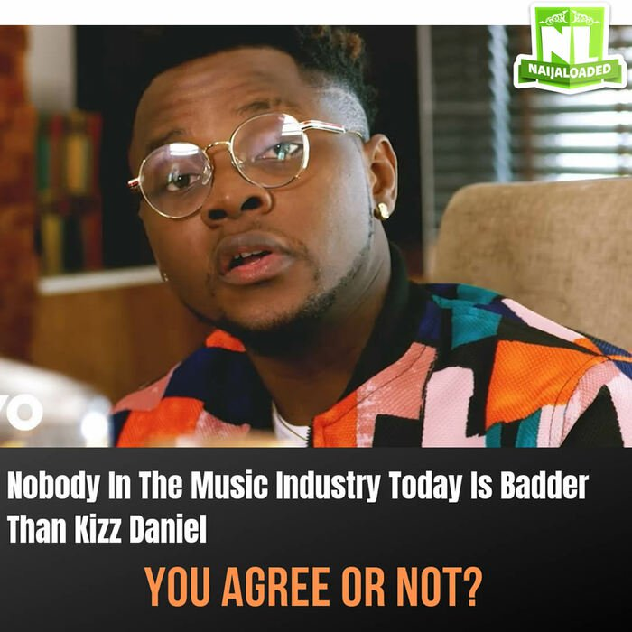 Kizz Daniel is The Most Talented Artiste in Nigeria Currently