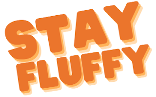 Orange Stay Fluffy Banner ©BionicBasil®