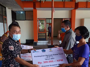 Penyaluran BST, Dinsos Manado Saling Koordinasi dengan PT Pos